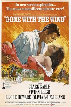 CAST: Clark Gable, Vivien Leigh, Olivia de Havilland, Leslie Howard, Thomas Mitchell, Hattie McDaniel, Butterfly McQueen; DIRECTED BY: Victor Fleming; PRODUCER: MGM David O. Selznick, David O. Selznic