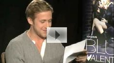"Ryan Gosling acts out ""Hey, Girl"" memes. Just his giggling is worth pinning this."
