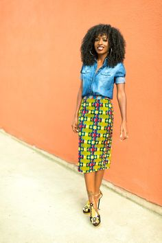Skirt by Stella Jean | Style Pantry