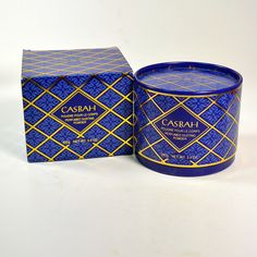 CASBAH Perfumed Dusting Body Bath Powder by Avon Rare DISCONTINUED NEW in Box by MemphisVintage on Etsy