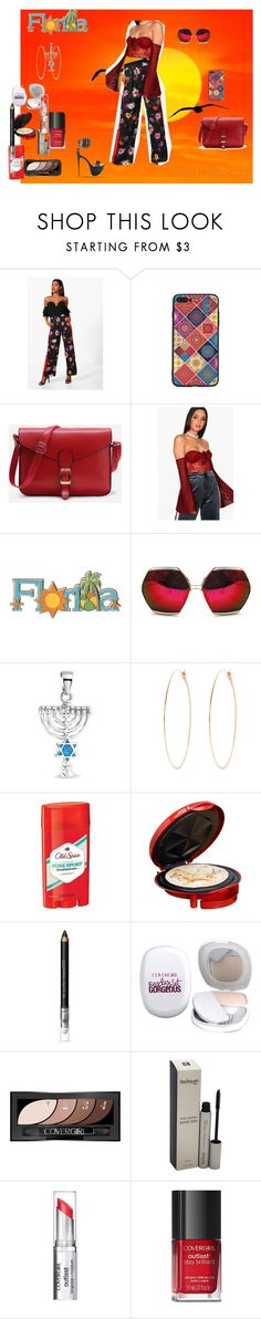 """""""The edge of a Florida sunset"""" by naomig-dix ❤ liked on Polyvore featuring Boohoo, Spitfire, Bling Jewelry, Melissa Joy Manning, Old Spice, Elite by Maxi-Matic and COVERGIRL"""