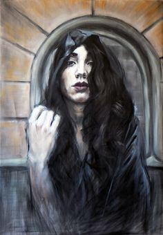 Emiliano Capotorto:  Untitledoil on canvas 100x70cm