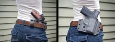 holsters with or without a belt