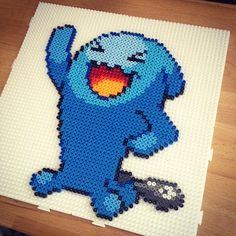 Wobbuffet - Pokemon hama beads by victor_sundman