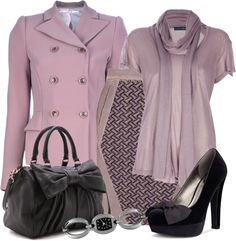 A fashion look from January 2013 featuring Ralph Lauren blouses, Schumacher blazers and Missoni mini skirts. Browse and shop related looks. Business Outfits, Business Attire, Work Fashion, Fashion Looks, Fashion Design, Classy Outfits, Cool Outfits, Work Attire, Dress To Impress