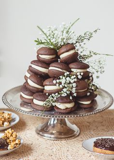 whoopie pies instead of cake