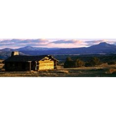 Ghost Ranch Abiquiu Rio Arriba County New Mexico Canvas Art - Panoramic Images (36 x 12)