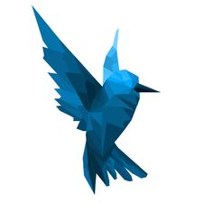Bird : Low Poly Art by Pixellion Creative, via Behance