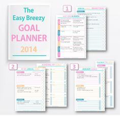 FREE Downloadable Goal Planner. Consider printing this out and going through it.