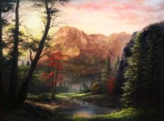 Paint with Kevin Hill - Colorful Sunlit Meadow