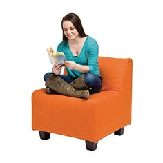 Choose Demco for all your library supplies! Enjoy superior customer service & more than products including security labels, book carts and library furniture. Teen Room Furniture, Library Furniture, Pod Chair, Teen Lounge, Simple Shapes, Slipcovers, Bean Bag Chair, Hardwood, Accent Chairs