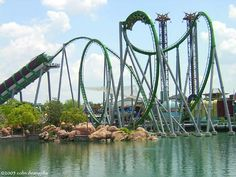 The Incredible Hulk- Universal Islands of Adventure