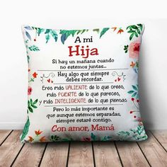 Para Graci y Yasmin😘💖 Dear Daughter, Daughter Quotes, Mother Quotes, Love Quotes, Inspirational Quotes, Love My Kids, Spanish Quotes, Mothers Love, Holiday Parties