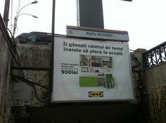 IKEA ad @Bucuresti [martie 2013]