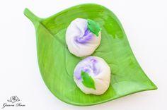 Uiro- Peony flower mochi