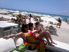 Disfrutando en la playa del hotel OCEAN SPA