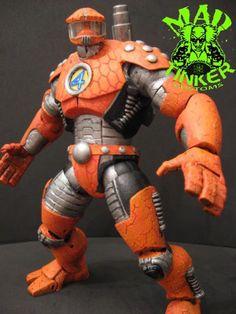 Mecha-Thing Alternate Reality Ben Grimm (Marvel Legends) Custom Action Figure