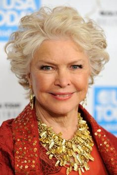Wondering what haircuts and color looks best on women over age 50? I share the best bobs, shags, shoulder-length cuts and more in this gallery.: Ellen Burstyn