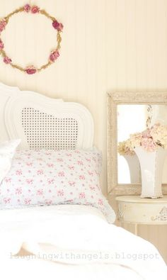 laughing with angels: corners in the bedroom