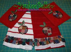 Country Apple Towels