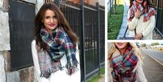 Blanket Scarves 7 options $18.99 (reg.$39.99)