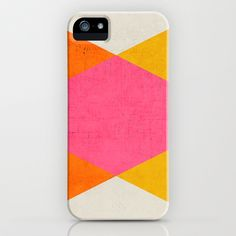 summer triangles iPhone & iPod Case by Her Art | Society6