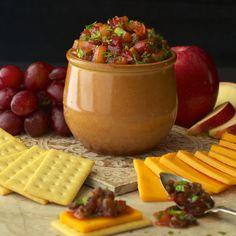 Apple & Pear Chutney - thecafesucrefarine.com