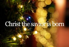 The true meaning of Christmas!