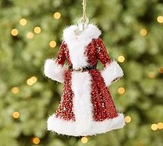 $9.50  10.26.15 - Christmas Ornaments & Tree Toppers | Pottery Barn