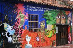 Street Art, Graffiti, Bogota, Colombia