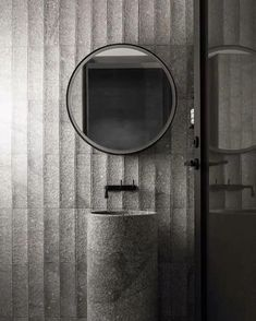 luxury bathroom B.E develops custom mirror with integrated light and storage - B. Steam Showers Bathroom, Bathroom Toilets, Washroom, Bathroom Interior Design, Interior Design Living Room, Modern Bathroom, Small Bathroom, Bathroom Ideas, Boffi