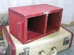 Treasury Item  Primitive Rustic Wood Box by PerfectPieLady on Etsy, $32.00