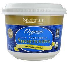 For pumpkin cookies  Spectrum Organic All Vegetable Shortening -- 24 oz - Vitacost