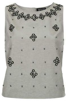 Craft Beaded Shell Top - Tops  - Clothing