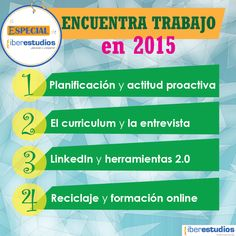 Claves para encontrar tu trabajo en 2015 | Noticias Iberestudios