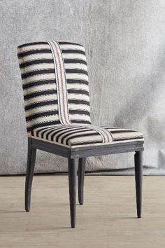 Grassland Stripe Dining Chair - anthropologie.com | superb chair from Anthropoligie - rosewood and mango wood frame and cotton upholstery