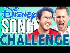 DISNEY SONG CHALLENGE [Part 2] | Markiplier - YouTube I love this one :D