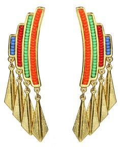 Earrings by Ben-Amun