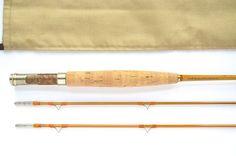 Walt Carpenter 6′ 7.5″ 2/2 #3 Special-Bamboo Fly Rod