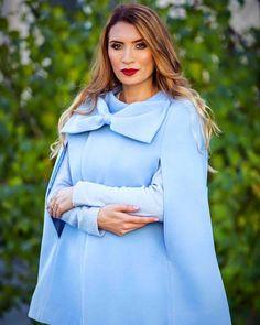 #coats #capecoats #boutique #blogger  #blazer #fashion #style #winter #coats #autumn #womenclothing #outerwear  #personalshopper  #moda #women #style #beauty #colorful #womensfashion #blogger  #nice #tutoriais #makeup #diy #clothes #outfit Cape Coat, Clothes For Women, Diy Clothes, Autumn, Blazer Fashion, Winter Coats, Boutique, Blouse, Womens Fashion