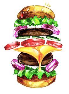 Sayfat – Délicieux t-shirts pour les amoureux du Fat Food