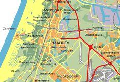 Haarlem, hoofdstad van Noord-Holland - vlakbij Amsterdam én bij Zandvoort aan Zee (half uurtje rijden).
