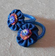Blue Big yoyo adorned with a smaller orange yoyo by saivijayanaidu, $5.00