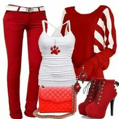 I'm not that big on red, but this I would rock.