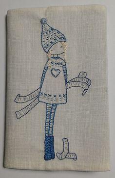 Little Green Doll - Bordado de Lilipopo - Lilipopo's embroidery