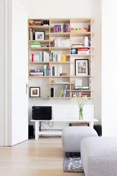 Bibliotheque sur mesure Alizee Dassonville Architecture
