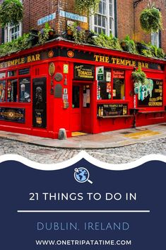 Dublin is yours to discover! A bustling capital with elegant Georgian streets, traditional pubs, historic landmarks, modern attractions, and the hospitality Ireland is famous for. Check out these 21 things to see and do in Dublin to start planning your trip to the city today!  #Dublin #thingstodoindublin #Ireland