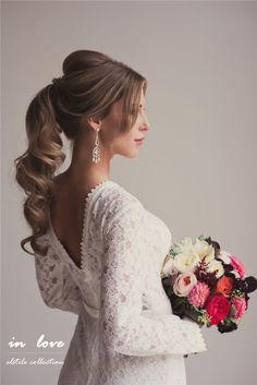 21 Inspirational Vintage Retro Wedding Hairstyles   http://www.deerpearlflowers.com/21-inspirational-vintage-retro-wedding-hairstyles/