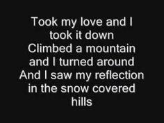 Stevie Nicks Landslide Lyrics