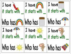 I have, who has alphabet and sounds freebie activity by Inspired by Kindergarten